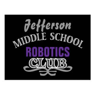 Club de la High School secundaria - equipo Postal