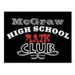 Club de la High School secundaria - matemáticas Tarjetas Postales