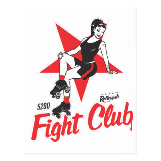 Club de la lucha tarjetas postales