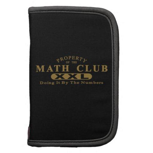 Club de la matemáticas organizador