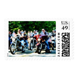 Club de la motocicleta estampillas