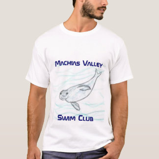Club de la nadada, club de Machias ValleySwim Playera
