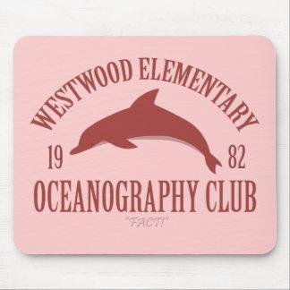 Club de la oceanografía alfombrilla de ratón