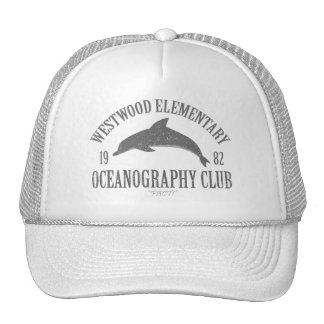 Club de la oceanografía gorras de camionero