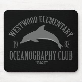 Club de la oceanografía mousepads
