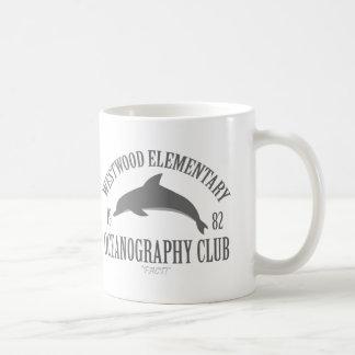 Club de la oceanografía taza clásica