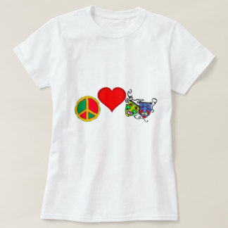 CLUB de la paz, del amor y del DRAMA Playera
