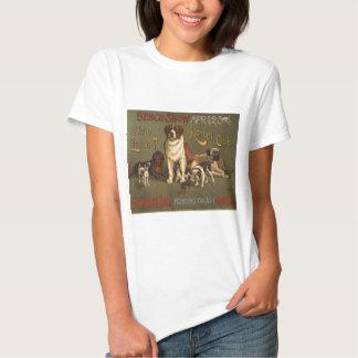 Club de la perrera de Nueva Inglaterra Remeras