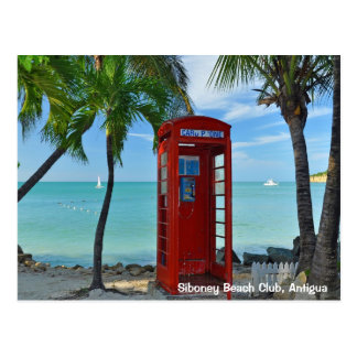 Club de la playa de Siboney, Antigua Postales