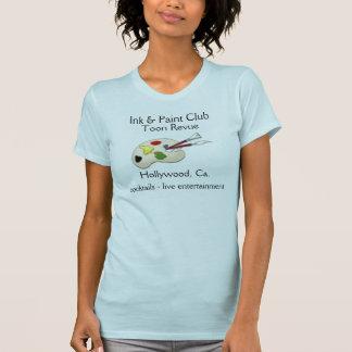 Club de la tinta y de la pintura camisetas