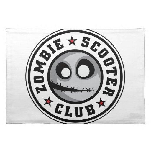 Club de la vespa del zombi manteles