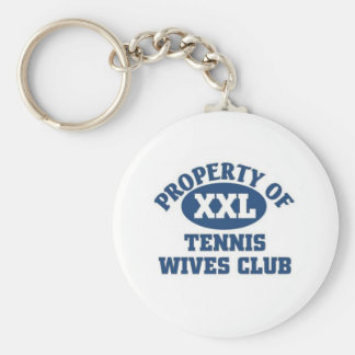 Club de las esposas del tenis llaveros
