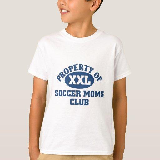 Club de las mamáes del fútbol polera