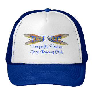 Club de las regatas de las hadas de la libélula gorras