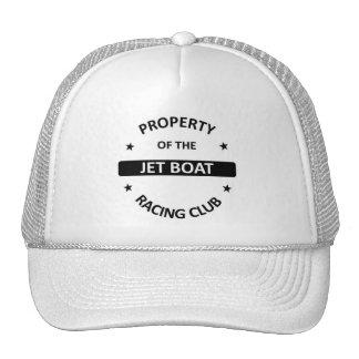 Club de las regatas del jet gorras de camionero