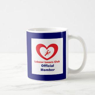 Club de los amantes de la langosta - miembro ofici tazas
