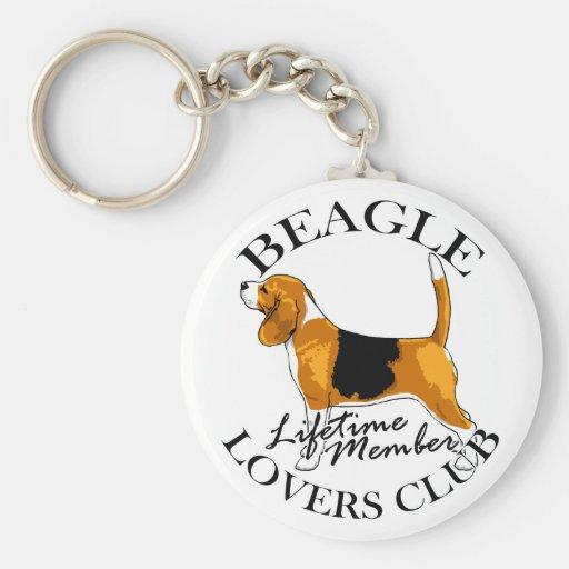 Club de los amantes del beagle llavero