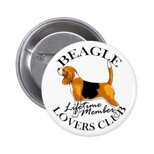 Club de los amantes del beagle pins
