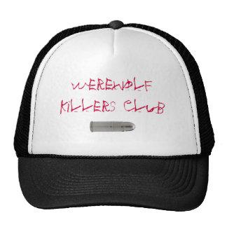 Club de los asesinos del hombre lobo gorras