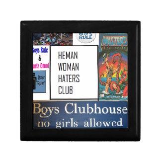 club de los enemigos de mujer del heman caja de regalo