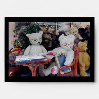 Club de los lectores de los osos de peluche sobre