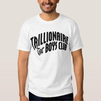 Club de los muchachos de Trillionaire Camisas