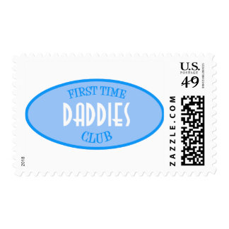 Club de los papás de la primera vez (azul) sello