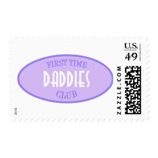 Club de los papás de la primera vez (púrpura) franqueo
