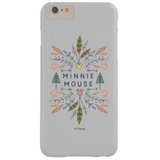 Club de los vagabundos de los jóvenes de Minnie Funda De iPhone 6 Plus Barely There