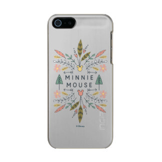 Club de los vagabundos de los jóvenes de Minnie Funda Para iPhone 5 Incipio Feather Shine