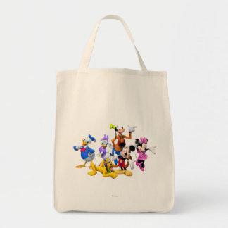 Club de Mickey Mouse Bolsa Tela Para La Compra
