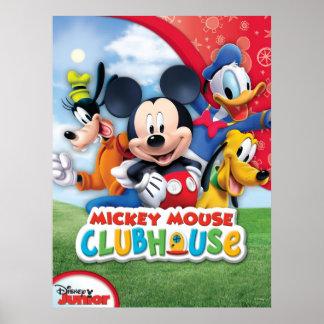 Club de Mickey Mouse Impresiones