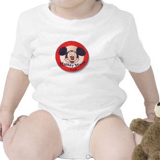 Club de Mickey Mouse Traje De Bebé