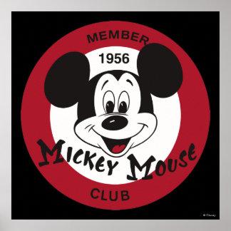 Club de Mickey Mouse Póster