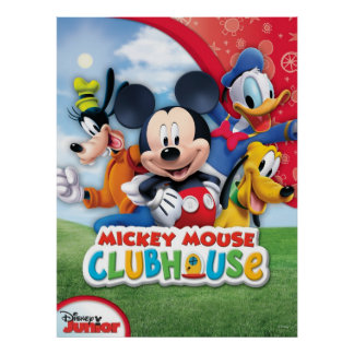 Club de Mickey Mouse Póster