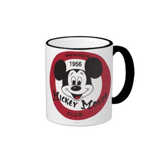Club de Mickey Mouse Taza A Dos Colores