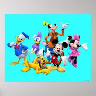 Club de Mickey y de los amigos el | Póster