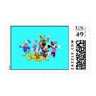 Club de Mickey y de los amigos el | Sello