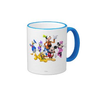 Club de Mickey y de los amigos el | Taza De Dos Colores
