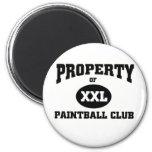 Club de Paintball Imán Para Frigorífico