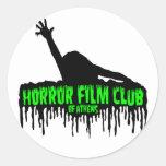 Club de película de terror de Atenas Pegatinas