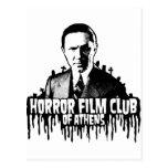 Club de película de terror de Atenas Tarjeta Postal