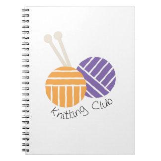 Club de Yarn_Knitting Libreta