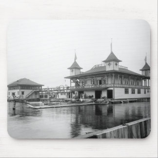 Club del barco de Duluth: 1906 Alfombrillas De Ratones