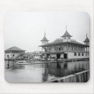 Club del barco de Duluth: 1906 Alfombrillas De Raton