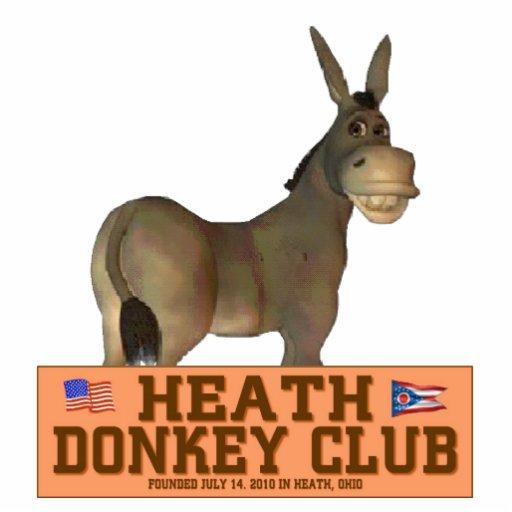 Club del burro esculturas fotográficas