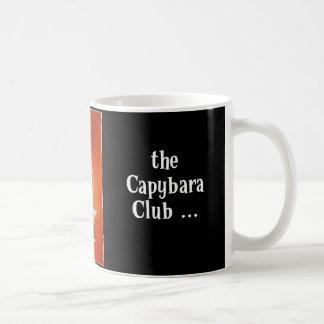 Club del Capybara Taza Básica Blanca