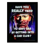 Club del coche de Wwii Postales