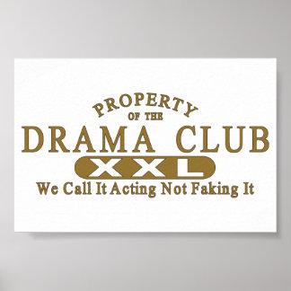 Club del drama posters