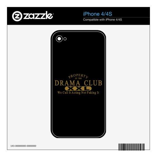 Club del drama skins para iPhone 4S